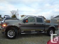 2008 Ford F-350 Super Duty Lariat in Mint Condition