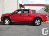 Make Ford Model F-150 SuperCrew Year 2008 Colour RED