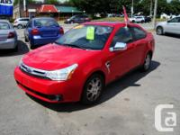 Make Ford Model Focus Year 2008 Colour Red kms 180000