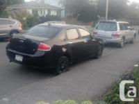 Make Ford Model Focus Year 2008 Colour Black kms 44000