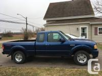 Make Ford Model Ranger Year 2008 Colour Blue kms 85000