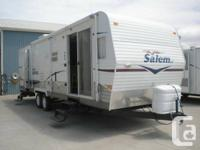 Salem 29FLSS  Sleeps 6 Weight -- 6665 lbs  Weekly