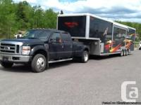 2008 Forest River Work and Play Toy Hauler + Ford F450