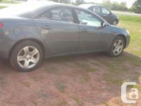 Make Pontiac Year 2008 Colour grey Trans Automatic kms