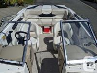 This as new, 1 owner bowrider Glastron GT205 used
