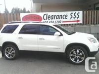 Make GMC Model Acadia Year 2008 Colour White kms