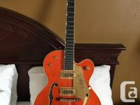 FOR SALE/TRADE: 2008 Gretsch G6120 125th Anniversary.