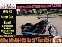 2008 Harley-Davidson FXDB Street Bob Awesome Blacked