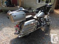 "2008 Harley Davidson FLHTC twin cam 96 "" fuel injected"