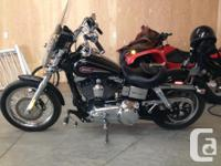 2008 Harley Davidson Dyna Low Rider. Bought New.