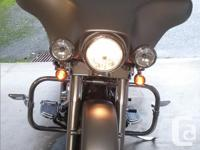 2008 Pewter Denim Street Glide in great shape. 6 speed