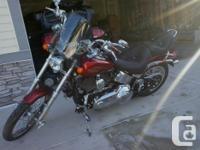 Make Harley Davidson Model Softtail Year 2008 kms