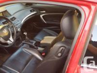 Make Honda Model Accord Year 2008 Colour Red kms