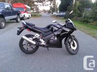 2008 honda cbr 125r with 9200Km. well maintained.