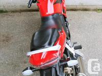 Make Honda Model Cbr Year 2008 kms 15000 Selling as I