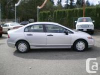 Make Honda Model Civic Sedan Year 2008 Colour Silver