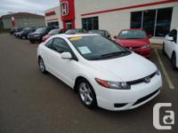 2008 Honda Civic Coupe EX-L, 5 spd: This is one