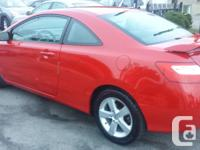 Make Honda Model Civic Coupe Year 2008 Colour RED kms