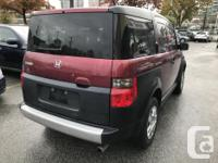 Make Honda Model Element Year 2008 Colour red kms