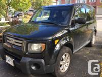 Make Honda Model Element Year 2008 Colour Black kms
