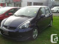 This is a beautiful one owner 2008 Honda Fit Sport. The