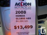 The Goldwing is the king of touring. With an 1800cc