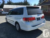 Make Honda Model Odyssey Year 2008 Colour White kms