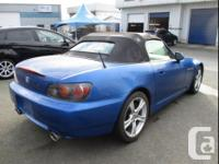 Make Honda Model S2000 Year 2008 Colour Blue kms 63432