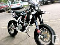 One of a kind, 2008 Husqvarna 510 SMR supermoto