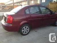 Make Hyundai Model Accent Year 2008 Colour Cheery red