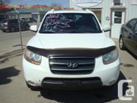 Make Hyundai Model Santa Fe Year 2008 Colour white kms