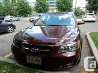 Milton, ON 2008 Hyundai Sonata GLS This reliable and