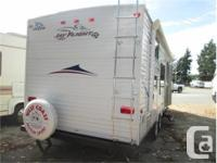 Price: $14,900 27 jayco bunk trailer with rear double