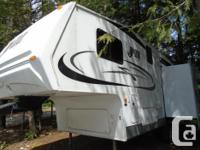 Very well cared for Jazz 2550 rear living with a