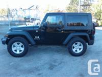 Make Jeep Model Wrangler Year 2008 Colour Black kms