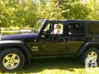 Make Jeep Version Wrangler Year 2008 Colour Black kms
