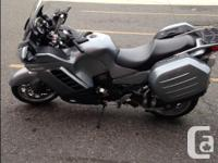 2008 Kawasaki Concours 14,only 6800 low kms, like new