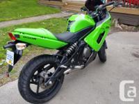 Make Kawasaki Model Ninja Year 2008 kms 15200 bought