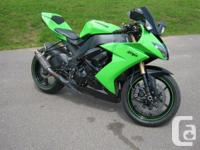 2008 Kawasaki Ninja ZX 10R Very Clean Bike! Corbin