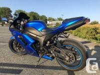 Make Kawasaki Model Ninja Sadly selling my zx6r for