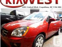 This 2008 Kia Rondo just came in ready to be taken for