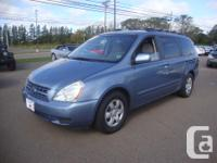 Make Kia Model Sedona Year 2008 Colour BLUE kms 118000
