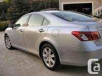 Make Lexus Model ES 350 Year 2008 Colour Silver kms