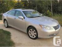 2008 Lexus ES350 fully loaded Low Kms Silver exterior
