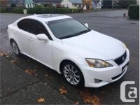 Make Lexus Model IS 250 Year 2008 Colour White kms