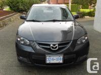 Make Mazda Model MAZDA3 Year 2008 Colour Dark Grey kms