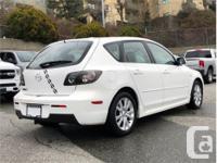 Make Mazda Model MAZDA3 Year 2008 Colour White kms