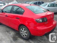 Make Mazda Model Mazda3 Year 2008 Colour red kms