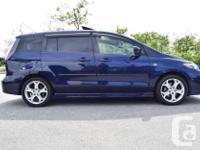 Make Mazda Model MAZDA5 Year 2008 Colour Blue kms