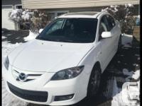 Make Mazda Model 3 Colour White Trans Manual OPEN TO